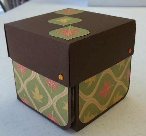Fall Explosion Wraparound Boxes