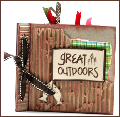 Great Outdoors 6 x 6 Altered Album